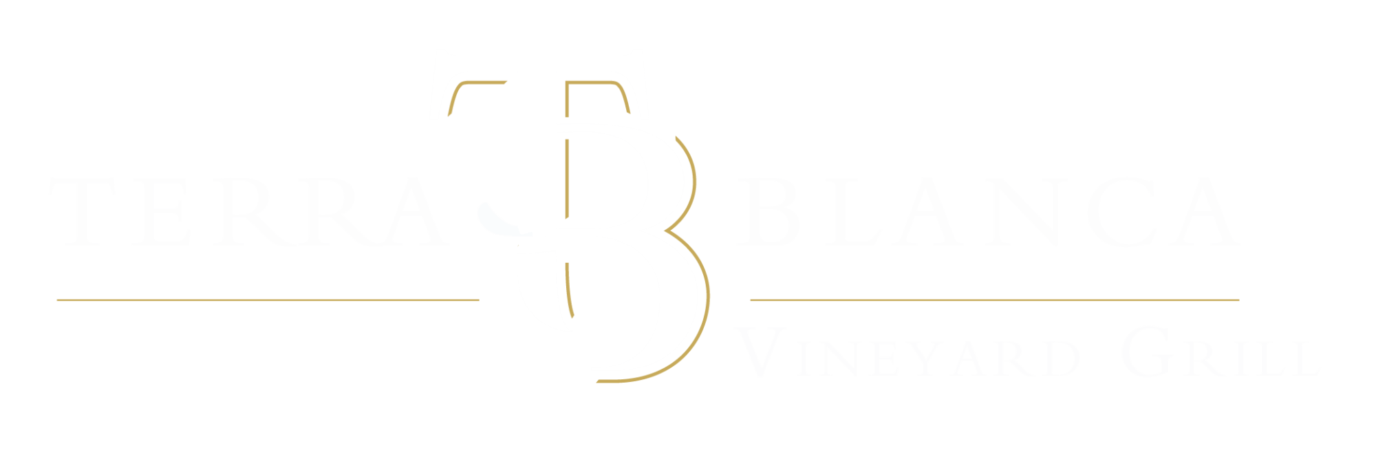 VineyardGrillLogoWhite 06 - Terra Blanca – White Earth. Blue Skies. Red Mountain.